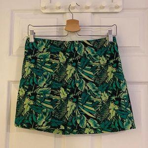 NWOT H&M palm leaves skirt